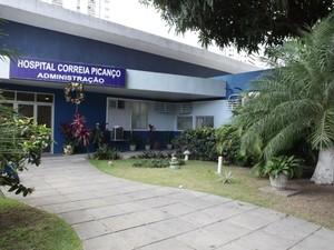 Hospital Correia Picanço (Foto: SES/Divulgação)