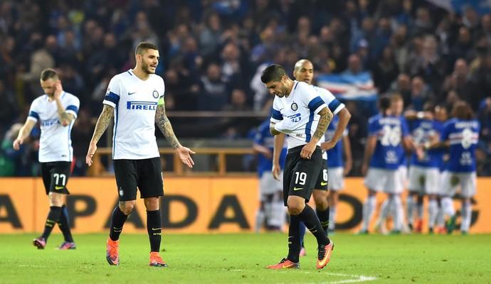 Sampdoria x Inter de Milão (Foto: Simone Arveda/EFE)