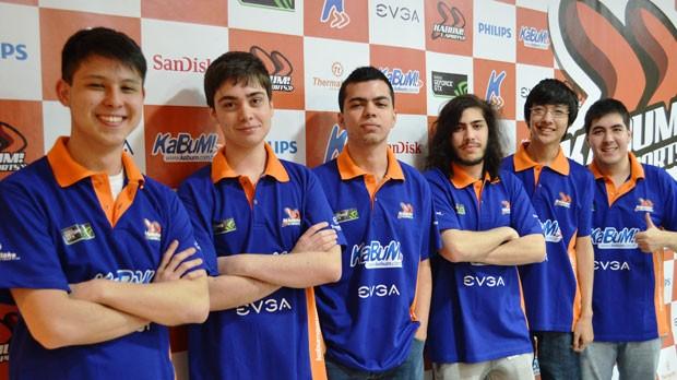 Time de 'League of Legends contratado por empresa de comércio eletrônico (Foto: Divulgação/Kabum)