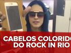 Tati Zaqui comenta cabelos coloridos de musas do Rock in Rio