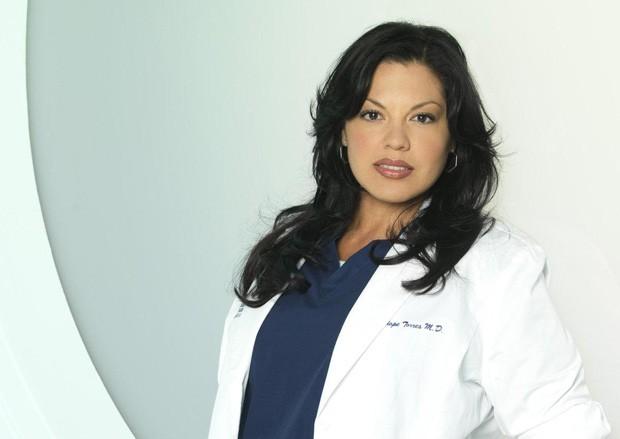Sara Ramirez viveu a dra. Callie Torres por 10 temporadas em 'Grey´s Anatomy' (Foto: Reprodução)