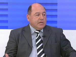 Presidente do Codeam, Eudson Catão, prefeito da cidade Palmerina, PE (Foto: Reprodução / TV Globo)