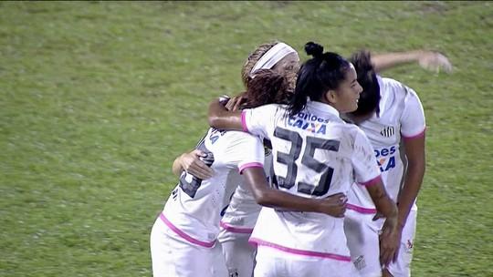 Santos bate São José e assume ponta temporária no Brasileiro Feminino