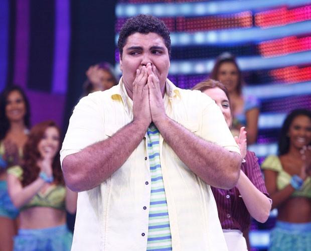 Paulo Vieira é o grande vencedor (Foto: Raphael Dias/Gshow)