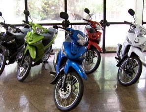 Cinco motos serão sorteadas  (Foto: Reprodução/TVCA)