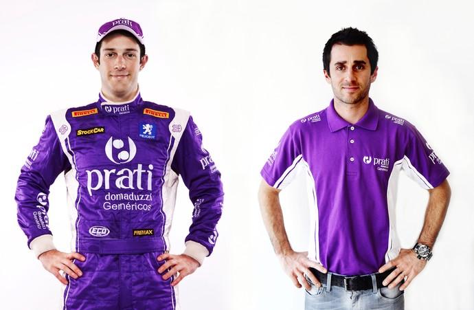 Bruno Senna e Nicolas Prost Stock Car (Foto: Divulgação/MF2)
