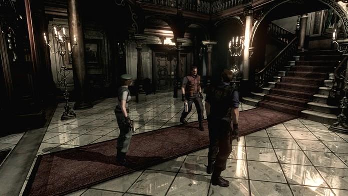 Resident Evil HD Remaster foi o melhor jogo de terror de 2015 (Divulgação/Capcom) (Foto: Resident Evil HD Remaster foi o melhor jogo de terror de 2015 (Divulgação/Capcom))