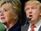 Trump e Hillary seguem liderando pesquisas para presidência dos EUA