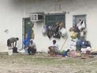 Grupo de venezuelanos foge da fome e se abriga em rodoviária de Manaus