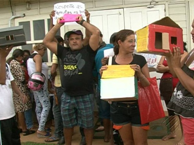Altamira Protesto Belo Monte (Foto: Reprodução/TV Liberal)