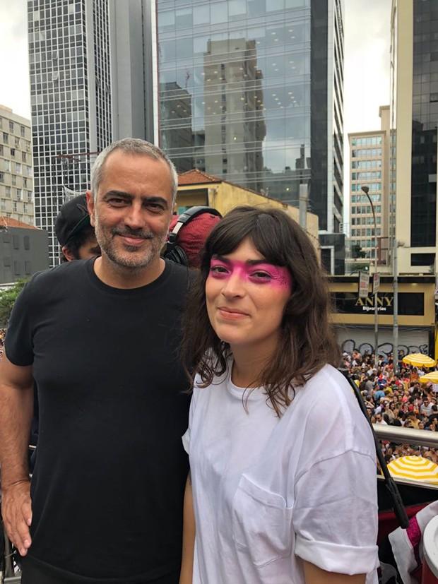 Heitor Dhalia e Vera Egito (Foto: GQ)
