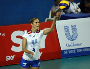 Sarah Pavan foi o grande nome do Rio de Janeiro na vitória sobre o Pinheiros (Foto: Luiz Doro/adorofoto)