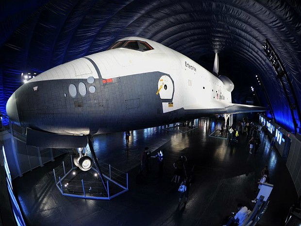 Enterprise 600 (Foto: Stan Honda/AFP)