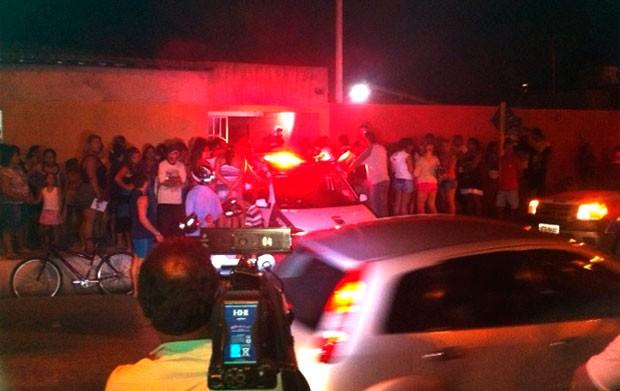 Incêndio aconteceu no quarto de um residência localizada no conjunto Gramoré, na zona Norte de Natal (Foto: Murilo Meireles)