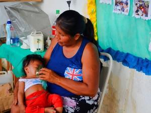 Cerca de 290 atendimentos foram realizados na aldeia (Foto: Abinoan Santiago/G1)