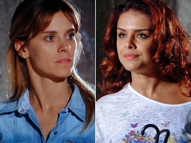 Jéssica não concorda com Rosângela (Foto: Salve Jorge/TV Globo)