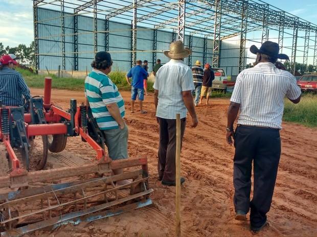 Uma das fazendas invadidas fica em Presidente Bernardes (Foto: Maurício Ribeiro da Silva/Cedida)