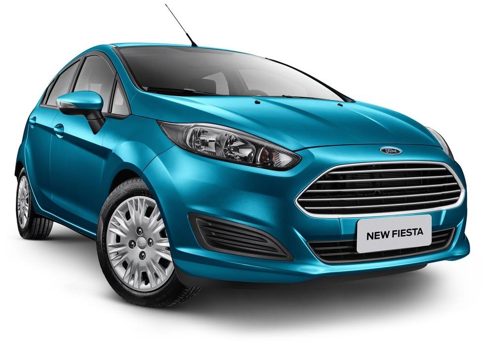 Ford Fiesta SE Plus automático (Foto: Divulgação)