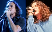 Vedder, Patton, D2: veja &#39;antes e depois&#39; (Vedder, Patton, D2: veja o &#39;antes e depois&#39; (Anna Krajec/Michael Ochs Archives/Getty Images e Flavio Moraes/G1))