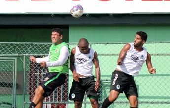Com time reserva, Boavista perde para o Nova Iguaçu em jogo-treino no CFZ