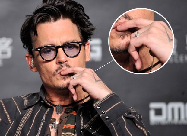 Johnny Depp anel (Foto: Reuters / Agência)
