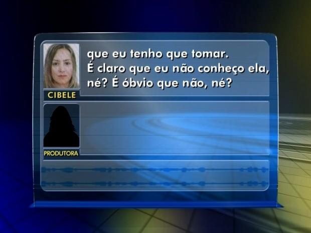 'Não a conheço', diz médica que teve registro usado por outra mulher (Foto: Reprodução/TV TEM)