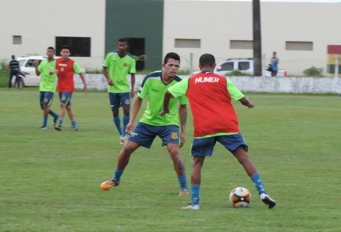 No clássico contra o MAC, Sampaio deve ter mesma formação da rodada passada  (Foto: Sampaio /  Divulgação)