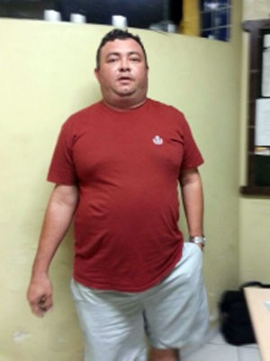 William Cirilo foi preso pela PRF no RN (Foto: PRF/Divulgação)