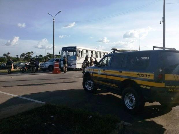 Operação Independência da PRF deve ser finalizada por volta das 5h desta terça-feira (8) (Foto: Neidiana Oliveira/G1)