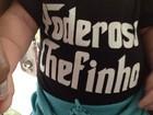 Cristiana Oliveira mostra neto com roupa divertida: 'Poderoso Chefinho'