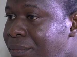 Júnior Archange preferiu voltar para o Haiti (Foto: Reprodução/RBS TV)