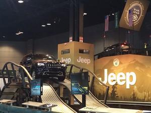 Camp Jeep do Salão de Chicago (Foto: Divulgação)