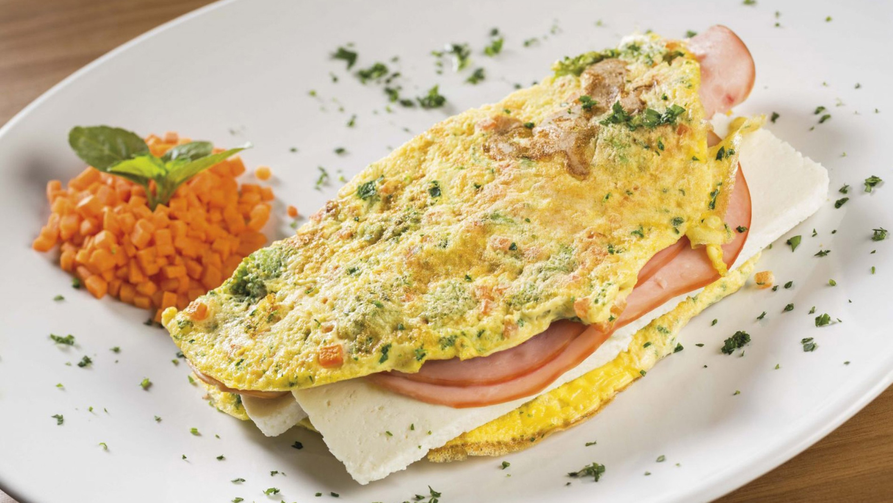 O omelete de forno (Foto: Divulgação)