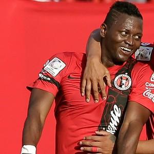 Duvier Riascos gol jogo Atlético-MG Tijuana (Foto: AP)