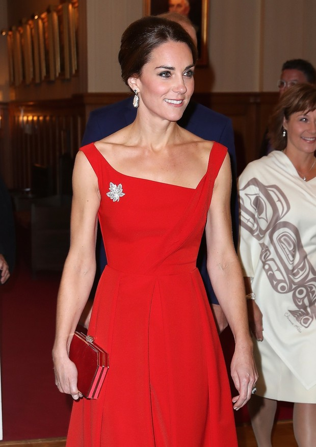 katemiddletonvermelhocanada2 (Foto: Getty)