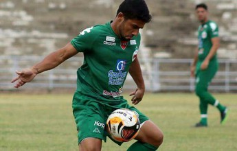 Hugo Sanches é regularizado e pode estrear pelo Serrano-PB na quarta-feira