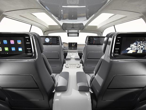 Telas e assentos do Lincoln Navigator (Foto: Divulgação)