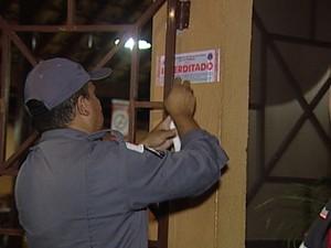 Interdita Bar Uberaba (Foto: Reprodução / TV Integração)