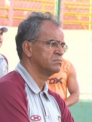 Wantuil Rodrigues, técnico do Sertãozinho (Foto: Reprodução EPTV)