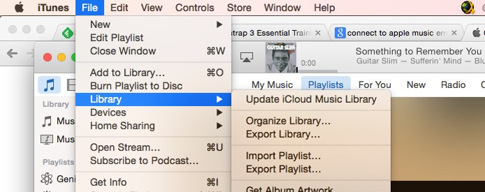 Dê um update no iCloud Music Library e suas músicas estarão disponíveis no Apple Music (Foto: Reprodução/André Sugai)