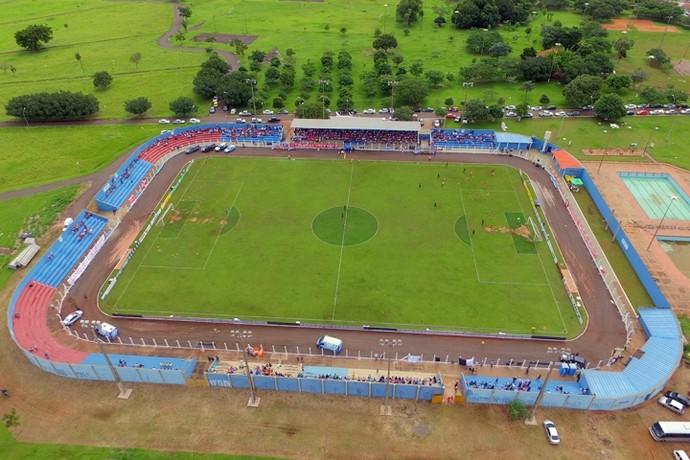 Estádio das Moreninhas, Jacques da Luz (Foto: Divulgação/PMCG)