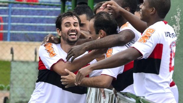 Flamengo bateu o Macaé por 4 a 1 (Foto: Davi Pereira/Jornal F7)