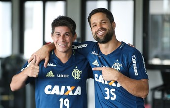 Jornalista vê dificuldade para Diego e Conca jogarem juntos no Flamengo