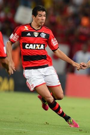 Caceres, Flamengo x Bolivar (Foto: Alexandre Vidal/Fla Imagem)