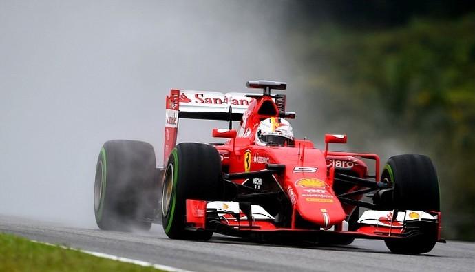 Vettel busca levar a Ferrari à primeira colocação entre as equipes (Foto: Getty Images)