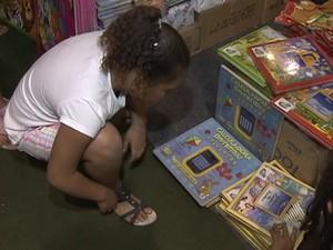bienal do livro (Foto: Reprodução/Tv Bahia)