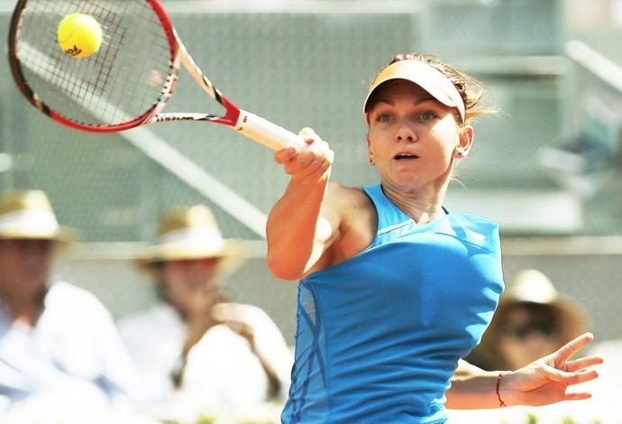 Sharapova x halep tenis masters madri (Foto: EFE)