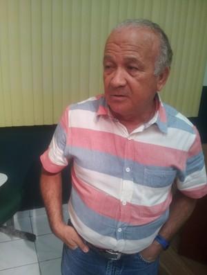 Antônio Aquino, presidente da Federação de Futebol do Acre (Foto: João Paulo Maia)