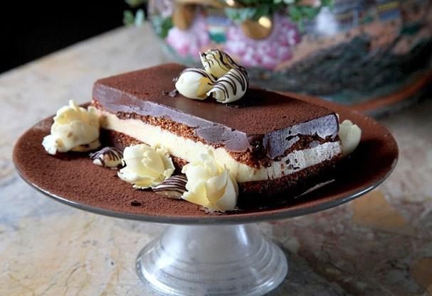 Terrine de chocolate (Foto: Divulgação)