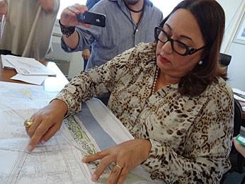Maria José Di Biase - Secretária de Desenvolvimento Urbano do Recife (Foto: Luna Markman / G1)